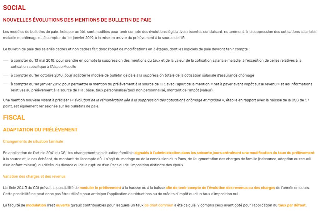 Newsletters Du Cabinet Baubet